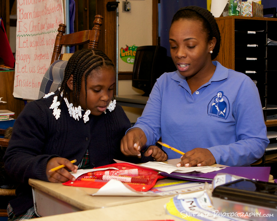 Tutoring begins in grammar school along with the opportunity to build future study skills.