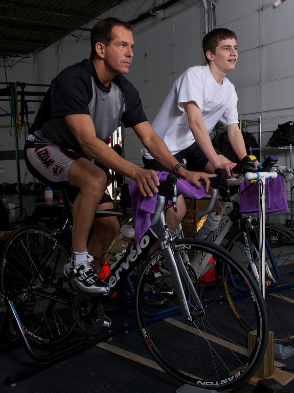 Computrainer classes are popular for triatletes and competitive cyclists